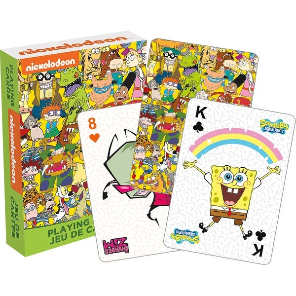 Nickelodeon Cast Playing Cards - Multi. Opens flyout.