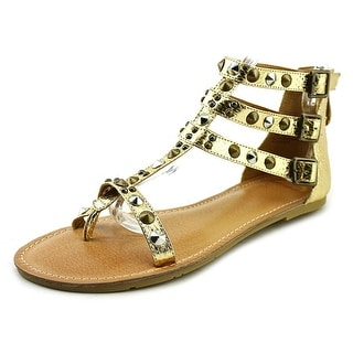 Mojo Moxy Nomad Women  Open Toe Synthetic Gold Sandals