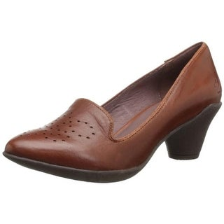 Miz Mooz Womens Gracie Pumps Leather Smoking Loafers