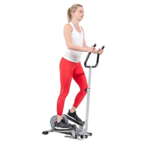 Sunny Health & Fitness Magnetic Standing Elliptical - SF-E3988