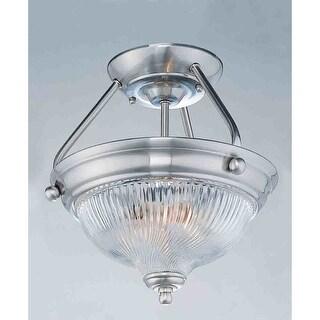 Volume Lighting V7864 3 Light Semi-Flush Ceiling Fixture