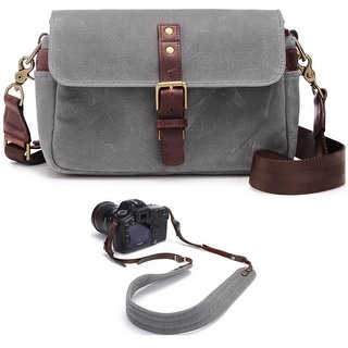 ONA Bowery Camera Messenger Bag & Presidio Camera Strap Bundle