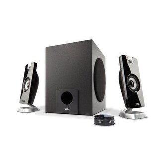 Cyber Acoustics CA-3090 18W Speaker System with Control Pod