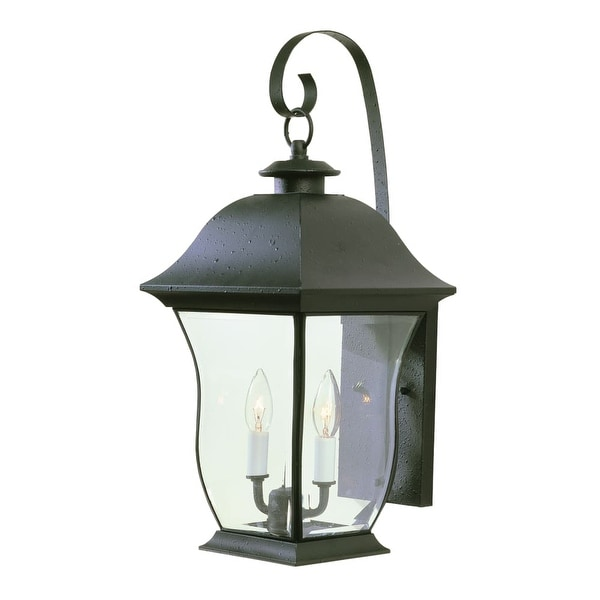 Trans Globe Lighting 4971 Two Light Up Lighting Outdoor Wall Sconce from the Outdoor Collection - n/a