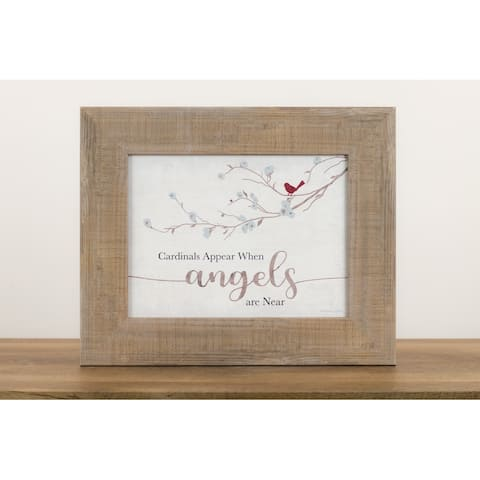 Cardinals Appear When Angels Are Near Heaven Sympathy Christian Decor Gift Art