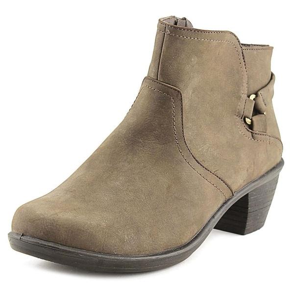 Easy Street Dawnta Women W Round Toe Synthetic Gray Bootie