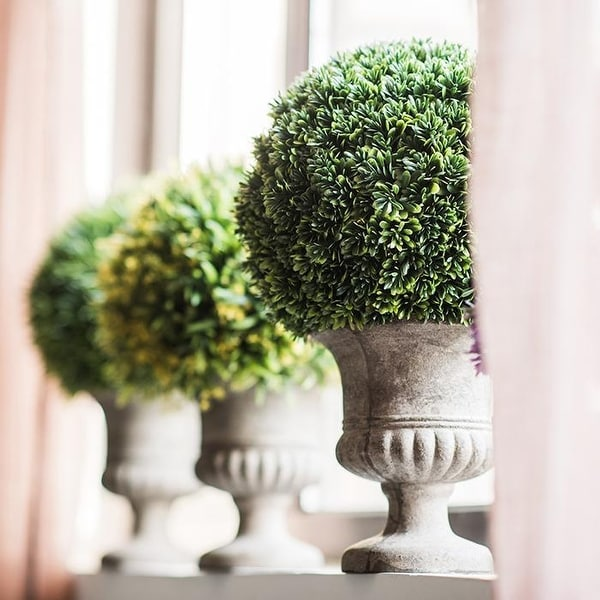 RusticReach Faux Cypress Topiary. Opens flyout.