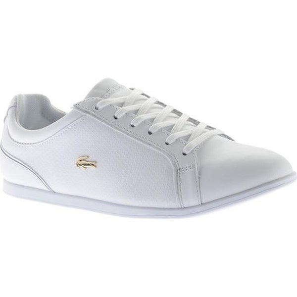 Sneaker Rey Shop Free Lace White Leather Lacoste Women's 1 vxT7Y