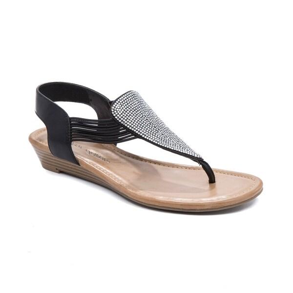 Andrew Geller Larsa Women's Sandals & Flip Flops Black