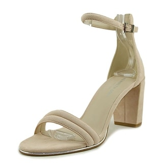Kenneth Cole NY Lex   Open-Toe Suede  Heels
