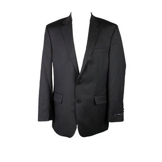 Alfani Suit Separates Black Cord Textured Blazer Jacket 40R