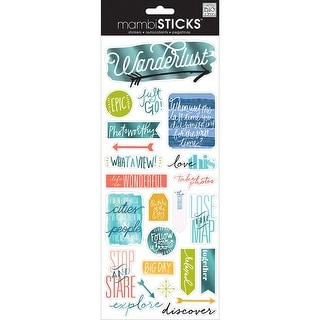 Specialty Stickers-Epic - Travel