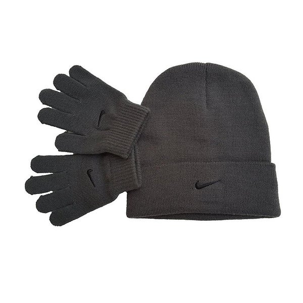 Shop Nike Knit Beanie   Gloves Set - Free Shipping On Orders Over  45 -  Overstock.com - 20487314 2aa79affcd8
