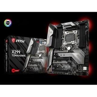 Msi Intel X299 Lga-2066 Ddr4 Usb 3.1 Sli Atx Desktop Motherboard