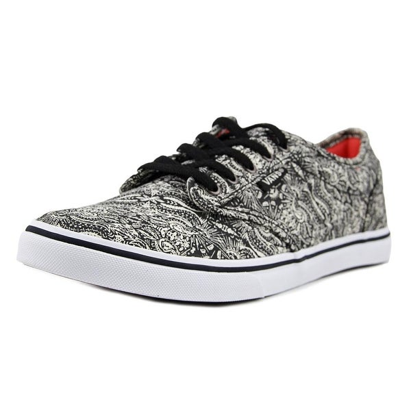 Shop Vans Atwood Low (Henna) Women Round Toe Canvas Black Sneakers ... 9008e5e5f