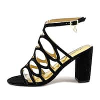 Thalia Sodi Womens Kiarah Fabric Open Toe Special Occasion Strappy Sandals - 9
