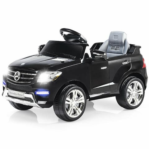 Costway Mercedes Benz ML350 6V Electric Kids Ride On Car Licensed MP3