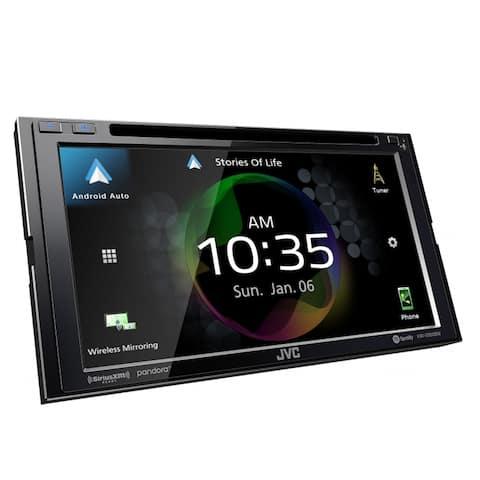 "JVC KW-V950BW 6.8"" CD/DVD Receiver w/ Wireless CarPlay and Wireless Android Auto"