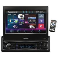 """Farenheit Single Din 7"""" Flip Out Touchscreen With Dvd & Bt"""