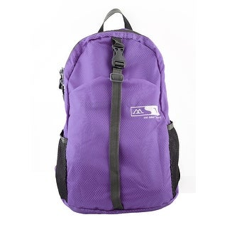 Lightweight Foldable Outdoor Hiking Camping Daypack Travel Backpack Bag Purple
