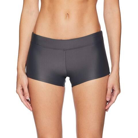 Coastal Blue Women's Swimwear Bikini Bottom, Asphalt, M (8-10) - 8