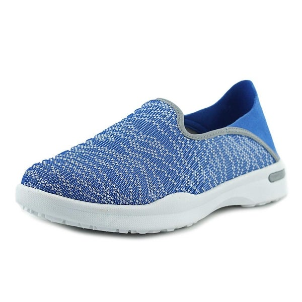 Softwalk Simba Women Blue Knit Walking Shoes