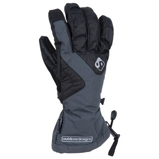 Outdoor Designs Summit Glove Slate M Ds-368-Slt-M