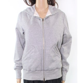 Champion NEW Heather Gray Women's Size Medium M Full-Zipped Hooded Jacket