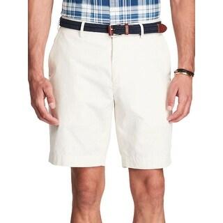 Polo Ralph Lauren Men's Stretch Classic-Fit Cream Shorts
