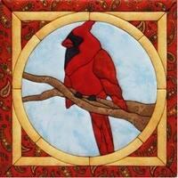 """12""""X12"""" - Cardinal Quilt Magic Kit"""