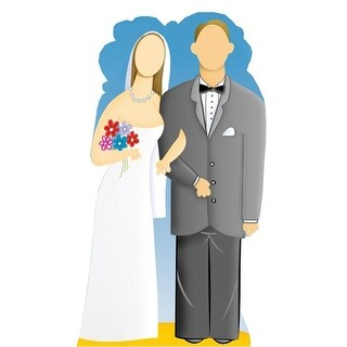 Wedding Couple Stand-In Life-Size Cardboard Stand-Up
