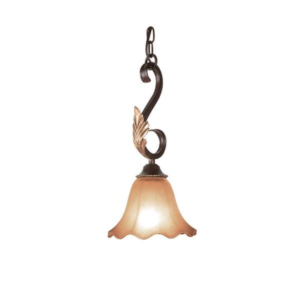 Woodbridge Lighting 28009 Harrington 1 Light Bordeaux Mini Pendant