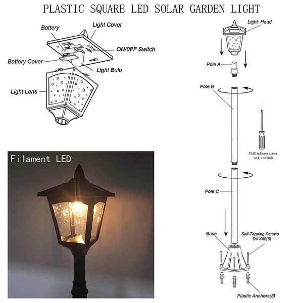 Outdoor Garden Solar Lamp