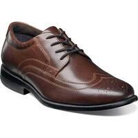 Shop Men S Nunn Bush Stillwater Brown Leather Free