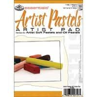 """Essentials Artist Pastels Paper Pad 5""""X7""""-10 Sheets"""