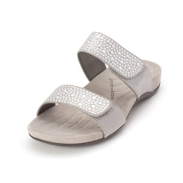 e60834011a93 Shop Easy Spirit Womens esp abaft2 Open Toe Casual Slide Sandals ...