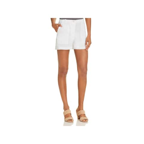 Theory Womens Cargo Shorts Organic Textured