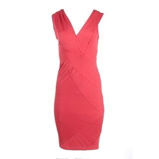 Donna Karan Womens Casual Dress Sleeveless V-Neck