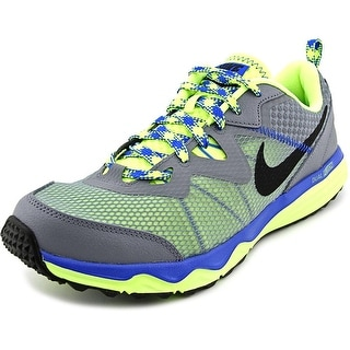 Nike Dual Fusion Trail Men Round Toe Synthetic Multi Color Trail Running