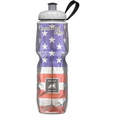 Polar Bottle IB24GRSANDS Double Wall Insulation Water Bottle, 24 Oz