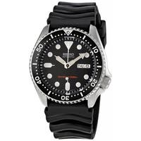 Seiko Men's Automatic SKX007K Black Rubber Japanese Sport Watch