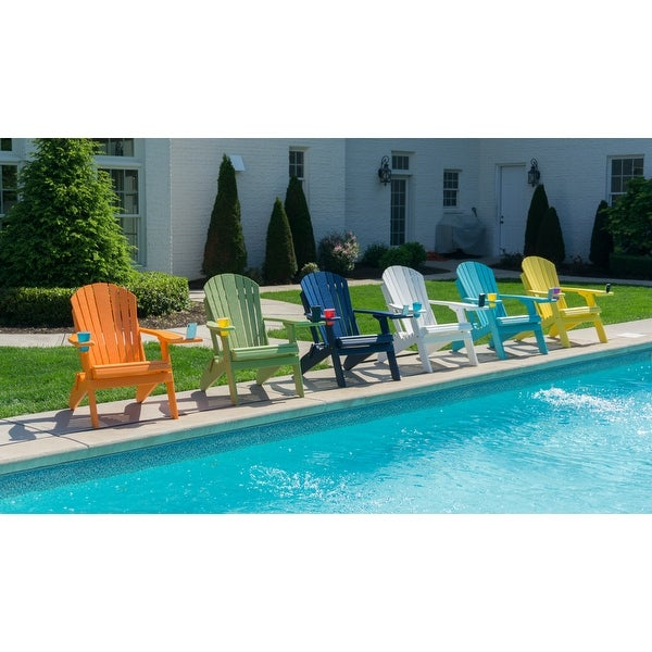 Folding Adirondack Chair with Smart Phone Holder - Eagle Collection. Opens flyout.