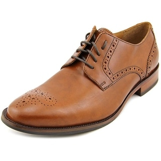 Cole Haan Williams Mdl Toe II Men Round Toe Leather Brown Oxford