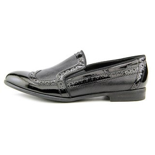 Franco Sarto Tibby Women Wingtip Toe Leather Black Loafer