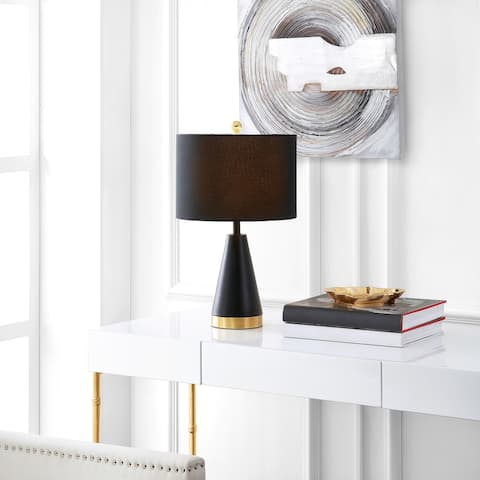 "SAFAVIEH Lighting Penla 20-inch LED Table Lamp (Set of 2) - 12"" W x 12"" L x 20"" H"