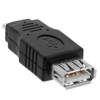USB 2.0 A Female to Micro B 5-Pin Male Adapter