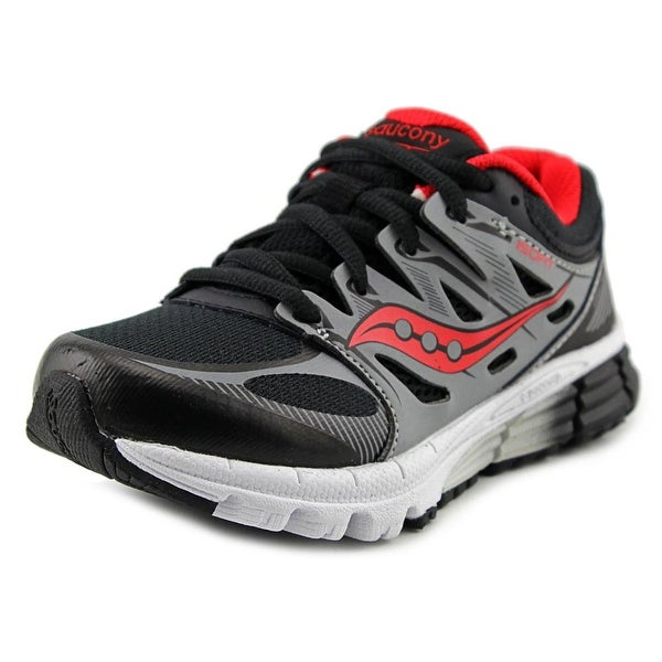 Saucony Zealot Youth W Round Toe Synthetic Black Running Shoe