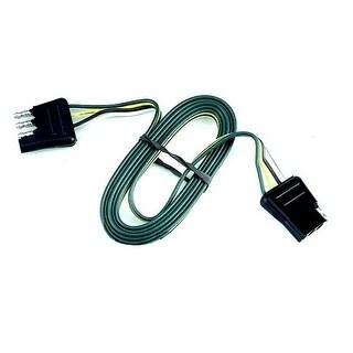 Reese Towpower 74125 4-Way Flat Loop Trailer Connectors, Black