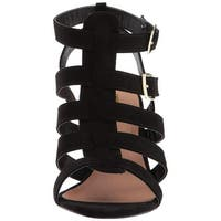 605a005ca87e Buy Black Qupid Women s Sandals Online at Overstock