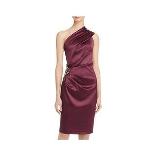 Eliza J Womens Cocktail Dress Embellished Sheath